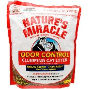 Nature's Miracle  Odor Control Clumping Cat Litter